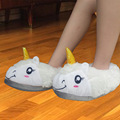 Unicorn Slippers Women Home 2016 Winter Indoor Chinelo Thick Slip Cartoon Funny Mop Cotton Pantufas De Pelucia Feminin Shoes