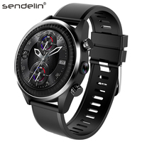 Call smart watch 4G network ROM16GB phone watch GPS heart rate monitor Android smartwatch PK xiaomi amazfit stratos 2 huawei GT