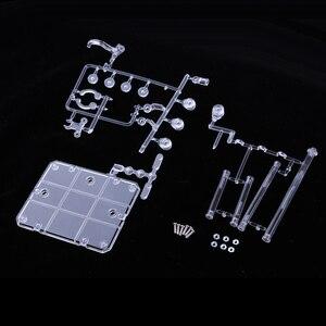 Image 2 - Azione Base Supporto Del Banco di mostra Rack Figura Modello di Supporto della Staffa per 1/144 HG RG SD Robot shf Saint Seiya Soul gundam