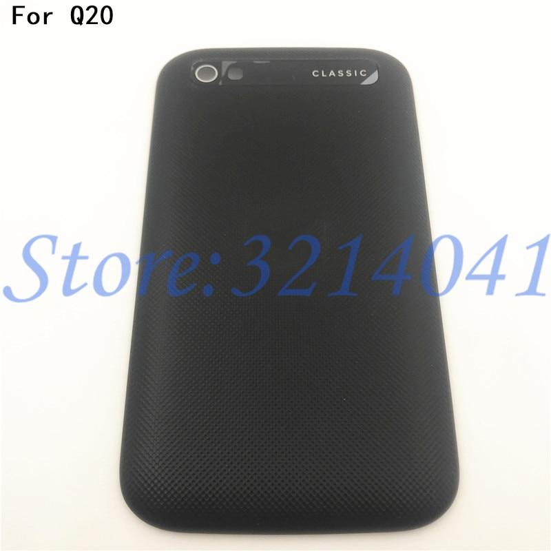 Good Quality Battery Back Cover For BlackBerry Classic Q20 Battery Door Back Cover Housing+Logo