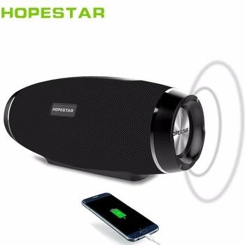 HOPESTAR H27 Rugby Wireless bluetooth speaker stereo soundbar waterproof outdoors Subwoofer Mp3 player tf usb fm radio powerbank subwoofer