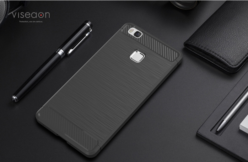 Untuk Huawei P8 Lite Kasus Kualitas Tinggi Lembut Silicon Kasus - Aksesori dan suku cadang ponsel - Foto 4