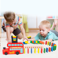 Train Blocks Set Building and Stacking Toy Blocks for building block gift box educational toy for babies