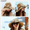 Venda quente das Mulheres Chapéus de Sol para Praia Férias de Verão, Chapéus Femininos para o verão, As Mulheres Chapéus de Verão para Vestidos Casual, Vestidos de senhora chapéus de palha