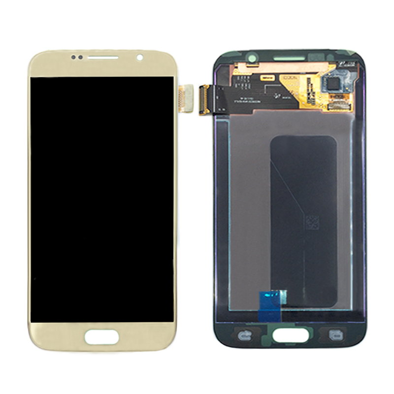 Y HOIVA 100 Tested Working LCD Display Touch Screen Digitizer Assembly For Samsung Galaxy S6 G920i