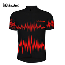 2017 NEW Air waves Mens Short Sleeve cycling jersey MTB heartbeat road clothing short sleeve Racing clothes 527