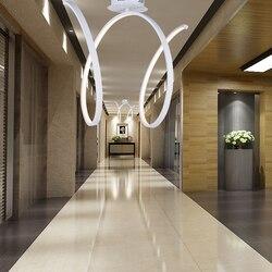 Nowoczesna minimalistyczna lampa sufitowa LED balkon do sypialni lampka na ganek aleja lampa kuchenna
