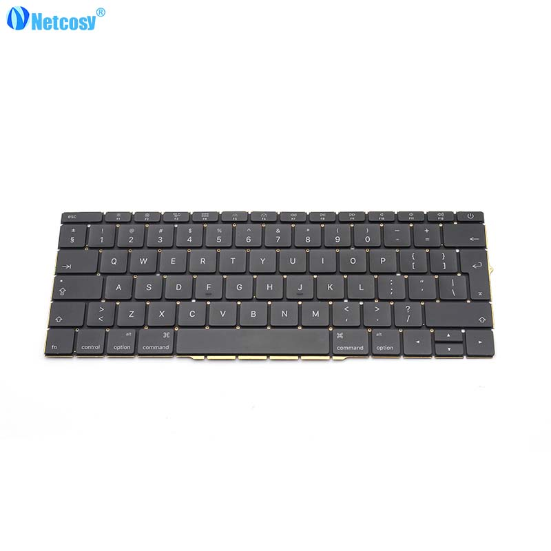 Netcosy EU standard keyboard For Macbook Pro Retina 13 A1706 2016 New EU Replacement keyboard Laptop For Macbook A1706