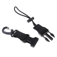 Heavy Duty Nylon Webbing Scuba Diving Lanyard Camera Torch Light Holder Strap & Quick Release Buckle