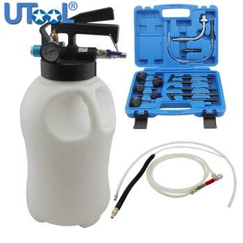 цена на 10L Pneumatic Transmission Oil Filling Tool Fluid Extractor Dispenser Refill Pump Tool Kit With 13pcs ATF Adaptor