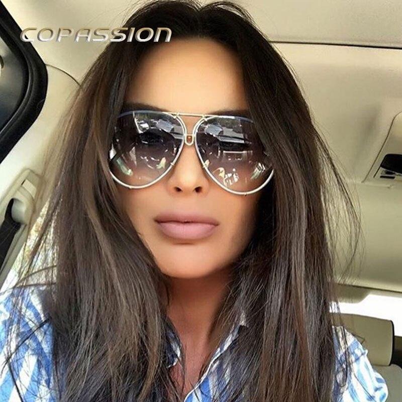 New Aviation 8478 sunglasses men women luxury brand Metal frame Oversized sun glasses driver goggles uv400 Eyewear oculos de sol