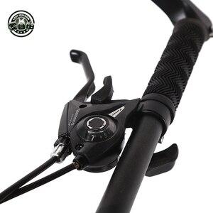 Image 4 - 愛自由最高品質のバイク 7/21/24/27 速度 26*4.0 脂肪バイクショックアブソーバー自転車送料配信雪バイク
