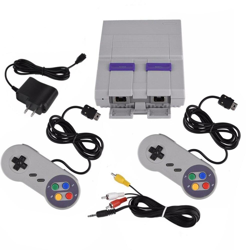 Console de jeux 94 intégrée 16 bits avec manette pour SFC pour SNES pour Nintendo Super Mini Consoles de jeux lecteur de jeux
