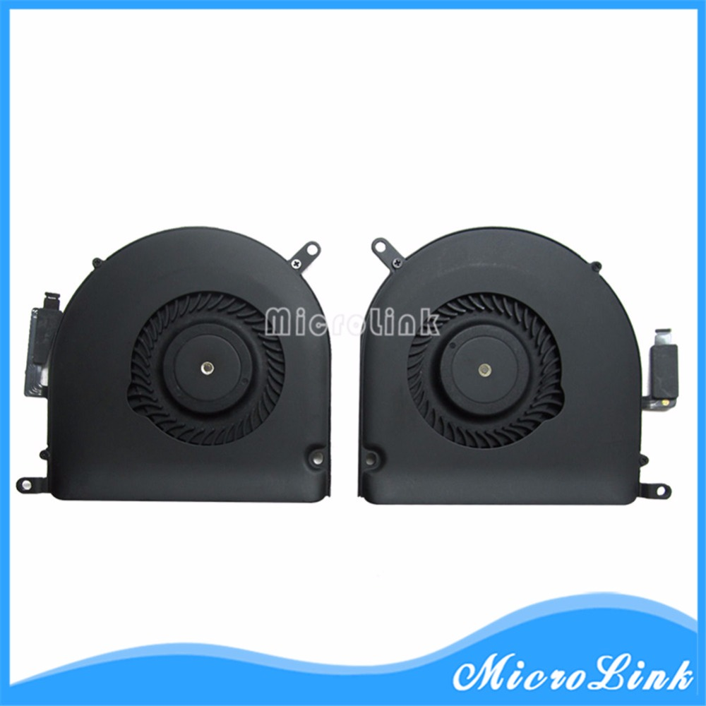 Original Cooling Fan for Macbook Pro Retina 15 A1398 CPU Cooler Fan Right & Left side 923-0091 923-0092 Mid 2012 - Early 2013 nabolang a1398 cooling fan 1 pair left