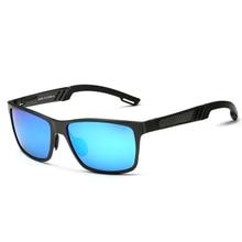 2017 Aluminum Magnesium Men's Sunglasses Polarized Coating Mirror Sun Glasses oculos Male Eyewear Accessories For Men