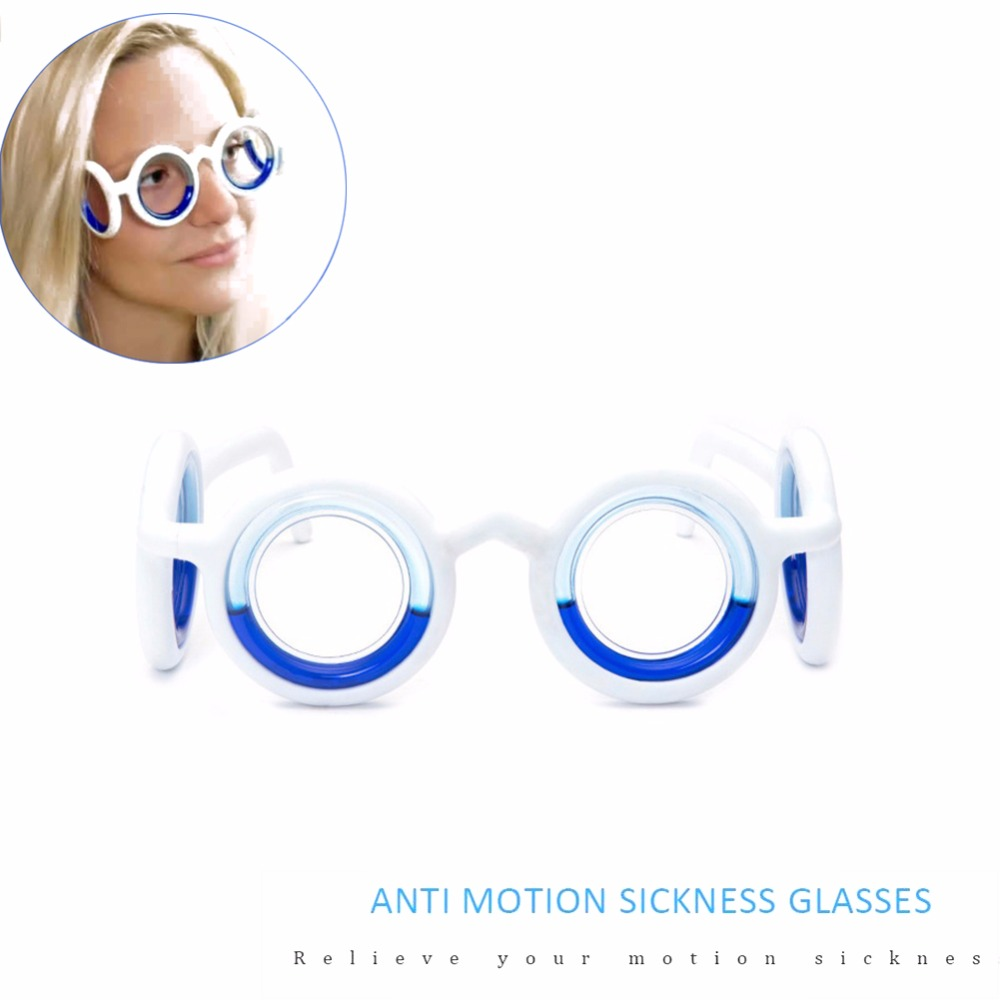 Outdoor Travel Tool Anti-Motion Glasses Cure Your Motion Sickness in 10-12 Minutes Sickness Glasses Carsickness Glasses