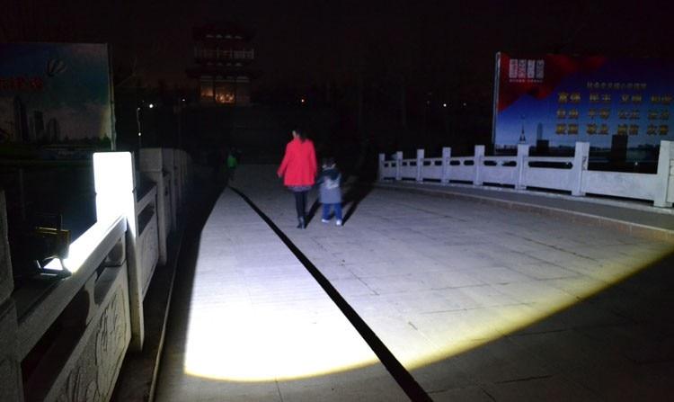 ao ar livre led luz de emergência