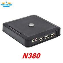 N380 тонкий клиент с COM RS232 поместить его WIN. CE 6.0 ARM11 800 МГц 128 М оперативной памяти и флеш-Черный цвет