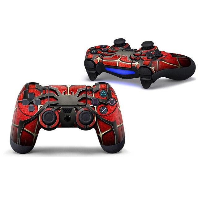 Pegatina personalizada de PVC, funda protectora para Sony PS4 Playstation 4 controlador Dualshock