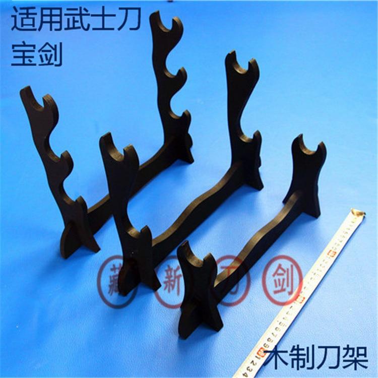 Pisau pedang braket satu / Tiga Lapisan Dekorasi Samurai Pedang Katana Holder Bracket Rack Tampilan pengiriman gratis