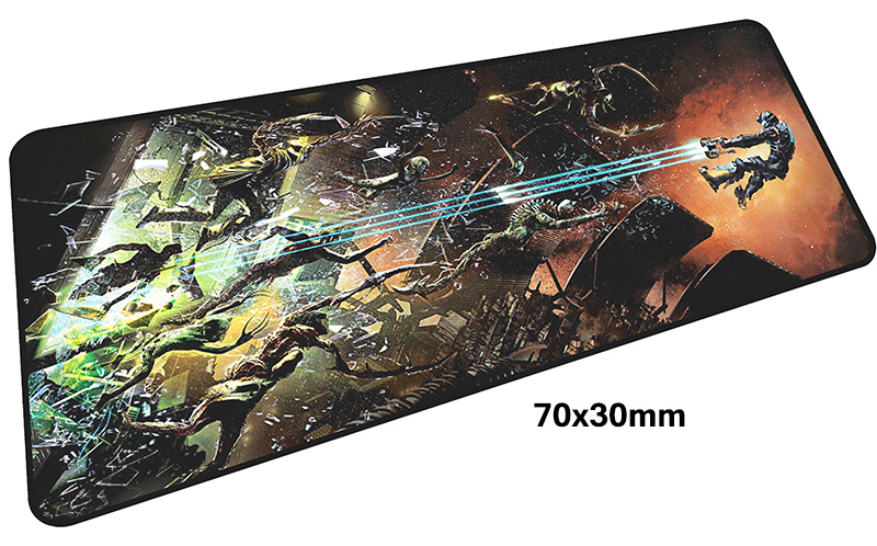 dead space mousepad gamer 700x300X3MM gaming mouse pad large 2018 new notebook pc accessories laptop padmouse ergonomic mat