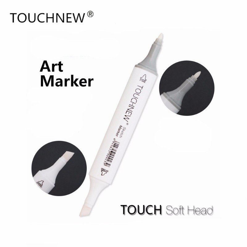 TOUCHNEW 0# Markers Colorless Blender Doub Head Sketch Brush Pen Art Marker Set For Animation Manga Design Painting Supplies