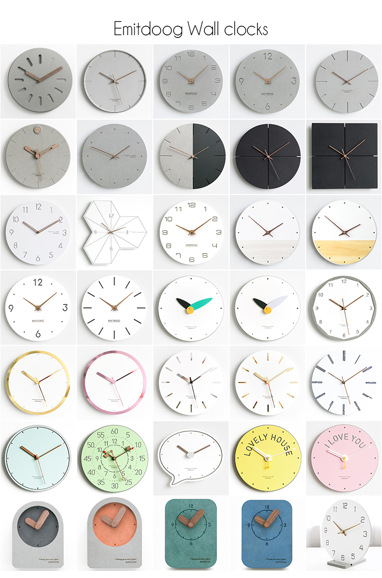 EMITDOOG clocks