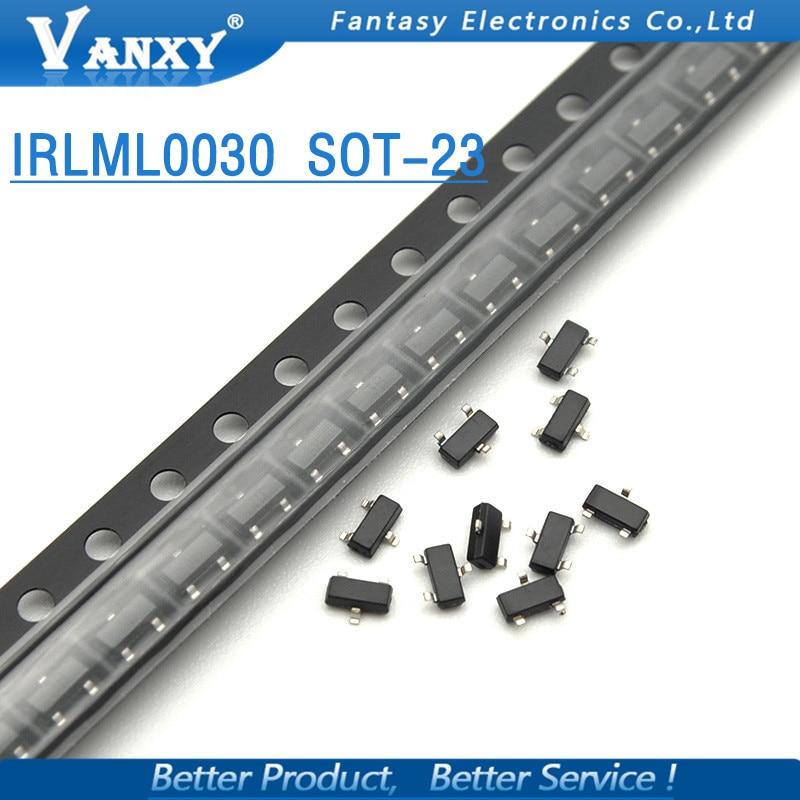 irlml0030 - 20PCS IRLML0030TRPBF SOT23 IRLML0030TR SOT-23 IRLML0030 new MOS FET transistor
