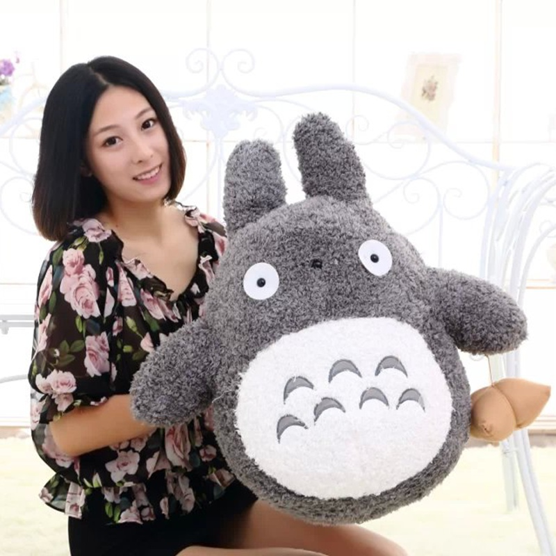 Dumplings 55cm totoro plush toy villi cartoon doll valentine day gift doll Car travel best accompany baby favorite doll