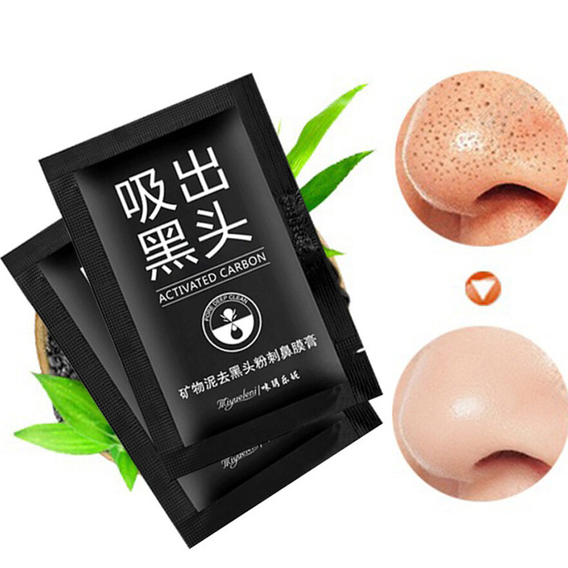 Beauty & Health Blackhead Remover Black Mud Deep Cleansing Purifying Peel Acne Face Mask Td0131 Dropship Delicacies Loved By All