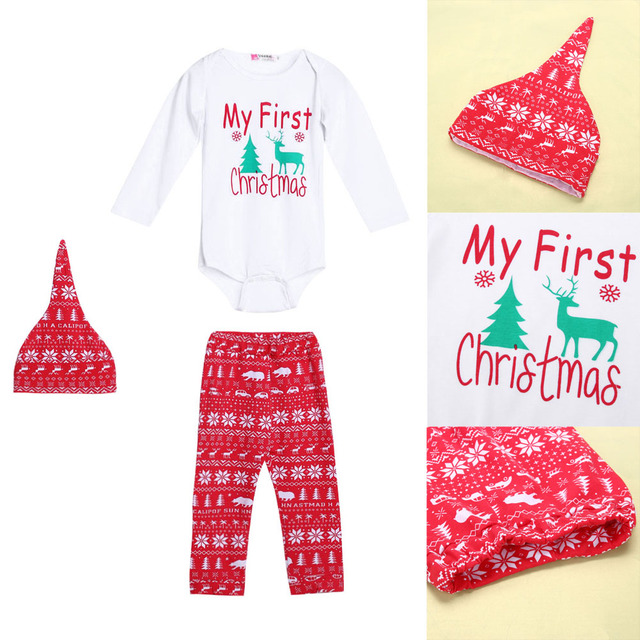 Baby Christmas Outfit Set