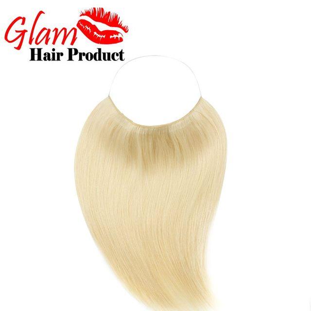 Virar em extensões de cabelo humano cabelo europeu 1pac / lot # 613 reta produtos de cabelo New Arrival Remy do cabelo humano com frete grátis