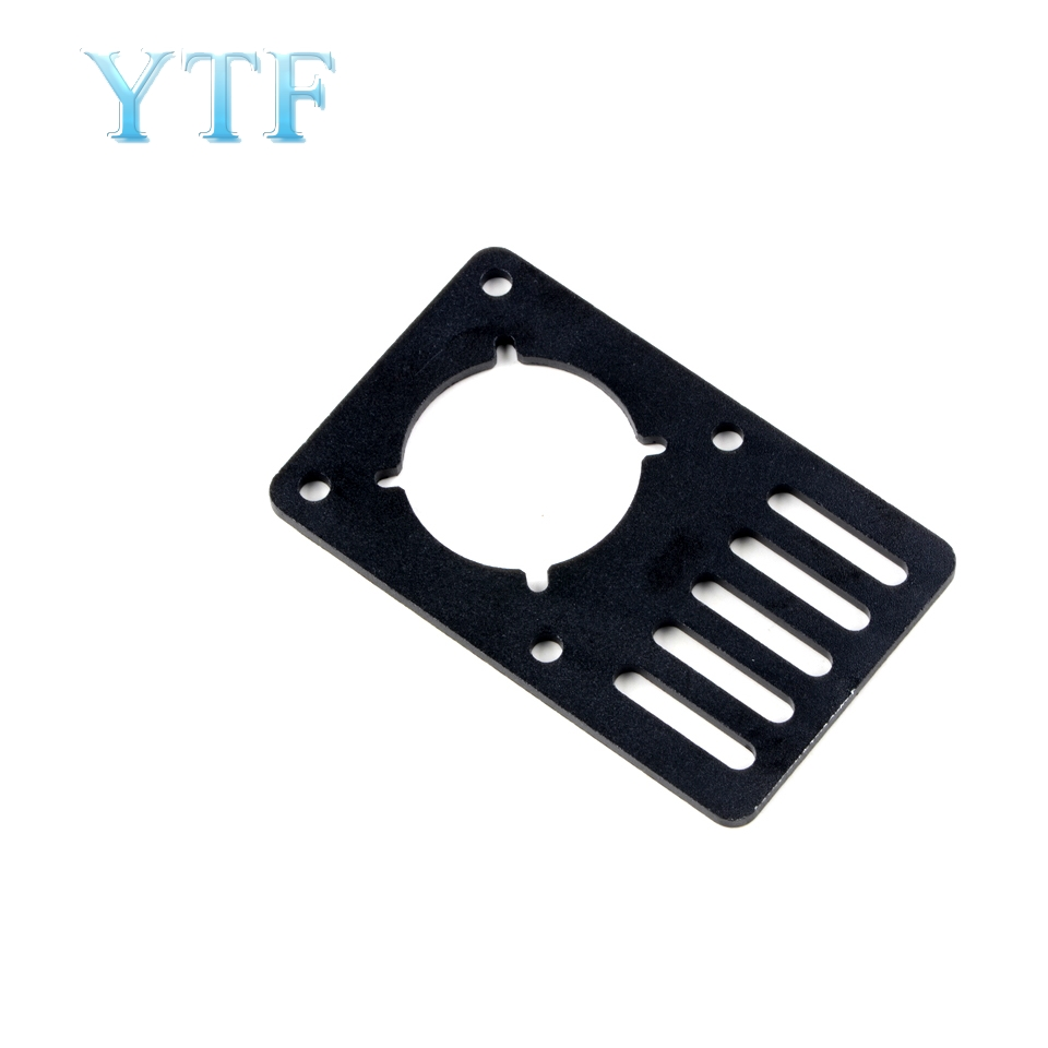 3D Printer Parts Motor Mounting Plate NEMA 23 Fixing Plate Aluminum Plate Support Plate