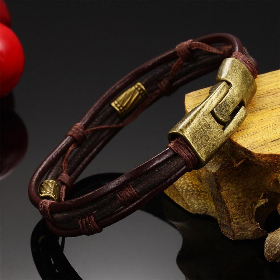 OPK-Fashion-Multi-Layer-Genuine-Leather-Man-Bracelets-Casual-Sporty-Easy-Alloy-Hook-Link-Chain-Men (3)