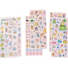 6pcs/pack Kawaii Sea Dog having holiday Sticker Washi Album Dairy Decoration DIY Scrapbook
