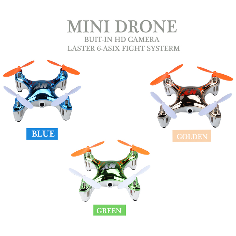 2017 RC Mini Drone with HD Camera 3D Rolls Quadcopte Remote Control Toys Dron With 0.3MP Camera RC Helicopte Toy As Kid Gift