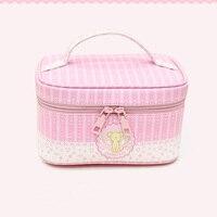 Anime Card Captor Sakura CardCaptor Sakura Storage Lunch Make Up Bag Box Case