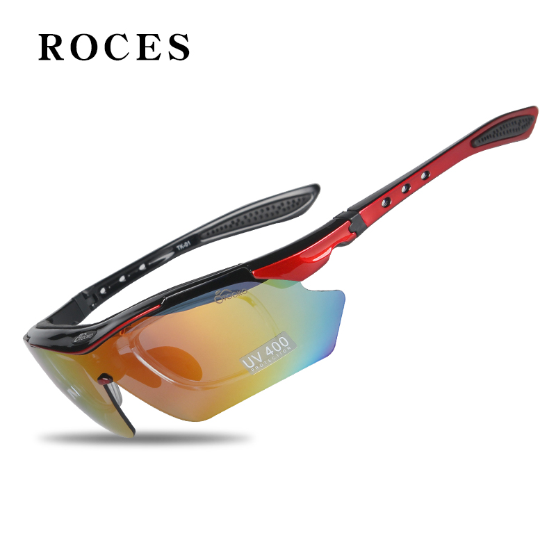 5 Pcs Lens Cycling Sunglasses Polarized UV 400 Protection Outdoor Sports Eyewear Glasses For Cycling MTB Road Bicycle Glasses