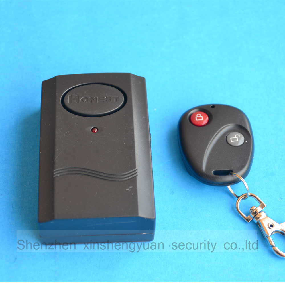 Wireless 120dB Vibration Alarm With Remote Control For Door Window Detector Anti-Burglar Theft Alarm System For Indoor Safety