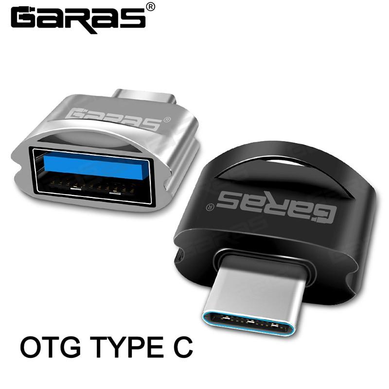 GARAS OTG Type-C/USB Type C OTG Adapter Type-C Converter USB To Type C OTG Micro Usb Adapter