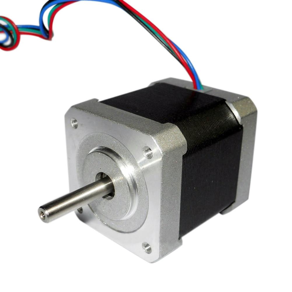 1//2//4PCS 2 Phase 4 Wire 42mm 1.8° Stepper Motor Nema 17 For 3D Printer Extruder