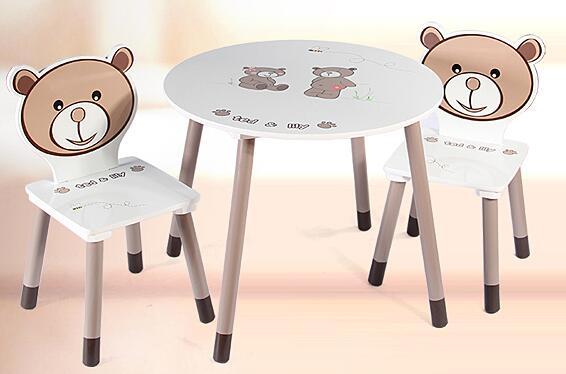 Mobili per bambini tavolo per bambini con panche e sgabelli in