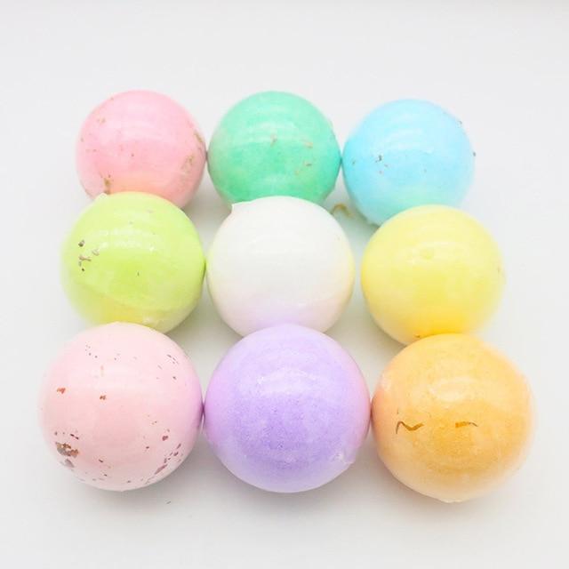 1 piece Bath Bombs Single pack100G Natural Essential Handmade Organic Spa Bomb Ideal Gift for Women Bath Salt, Fizzy Spa 2