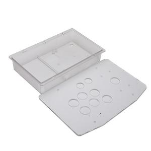 Image 5 - Acryl Panel Fall Ersatz DIY Klar Schwarz Arcade Joystick Griff Arcade Spiel Kit Robust Bau Einfach zu Installieren