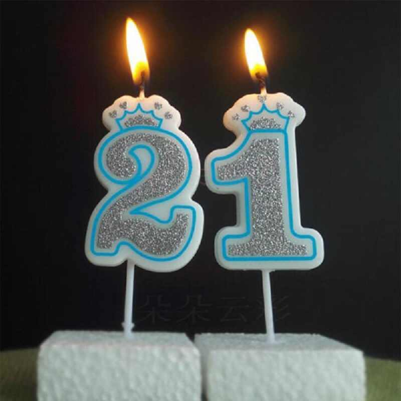 أرقام 0 1 2 3 4 5 6 7 8 9 عيد ميلاد الشمع الشموع ل حزب الذكرى كعكة القبعات العالية زينة Diy هدية الحرفية الملونة Wh لوازم تزيين الكيك Aliexpress