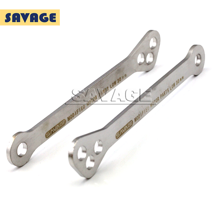 A piece Of  Adjustable Stainless Steel Suspension Drop Link Kits Lowering Links Kit For SUZUKI GSX-R1000 GSX600F GSX750F KATANA