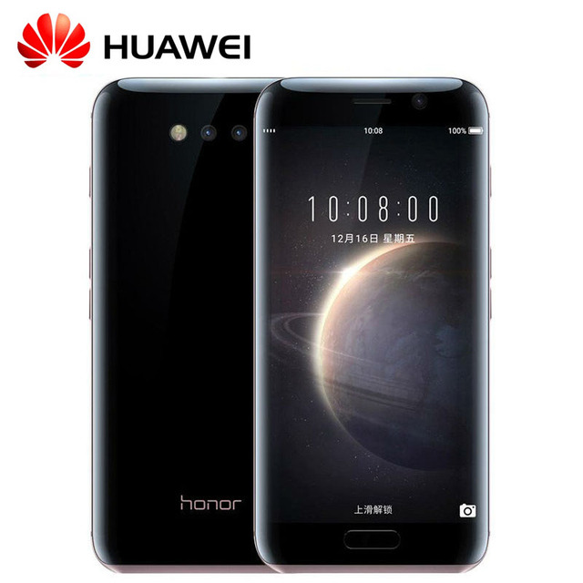 Original Huawei Honor Magic 5.09 inch Kirin 950 Octa Core 4G/64GB Android 5. 2K Screen 2560*1440 Dual Nano SIM Card Smartphone