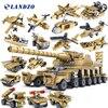 Military Series Thunder War Building Blocks 16 In 1 Assembled Toys Model 16 Kinds Children S