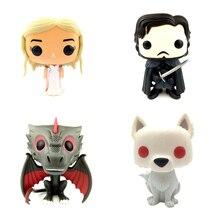 Bobble Head Action Figures Suitable for Car Decoration – Arya Stark, Jon Snow, Daenerys, Tyrion