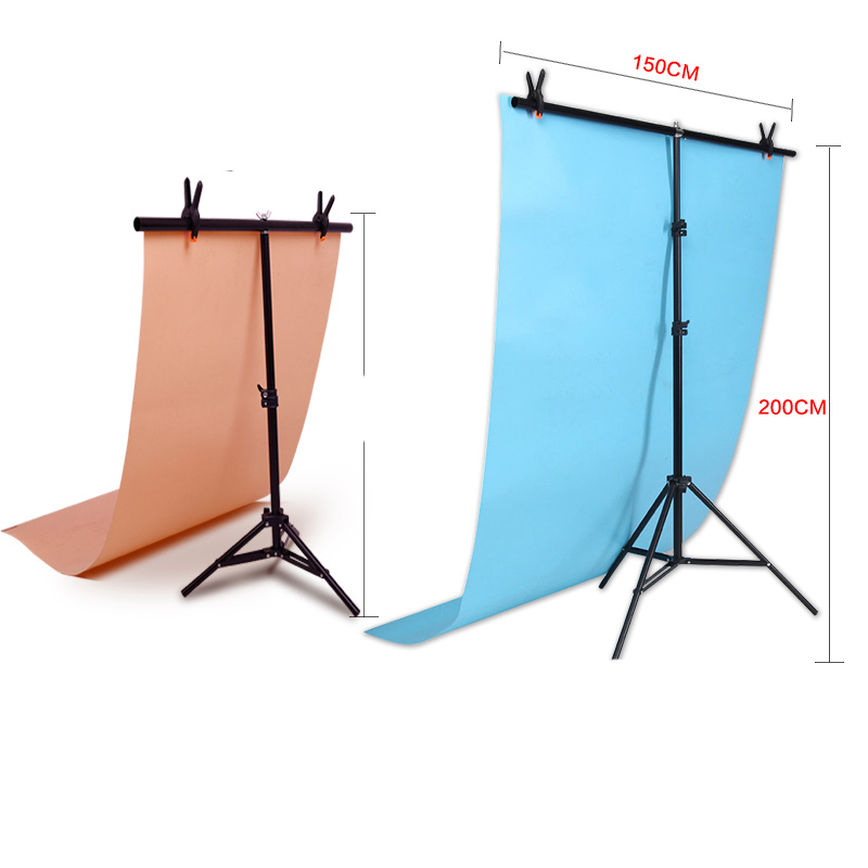 Max width 152cm X 200cm height Photography big PVC Backdrop Background Support Stand System Metal
